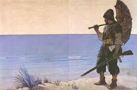 Robinson Crusoé passou 28 anos numa ilha