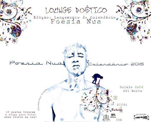 Calendário Poesia Nua 2015