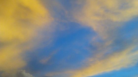 céu da tarde 1