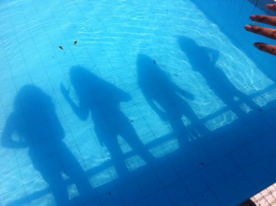 Ser pai de - piscina