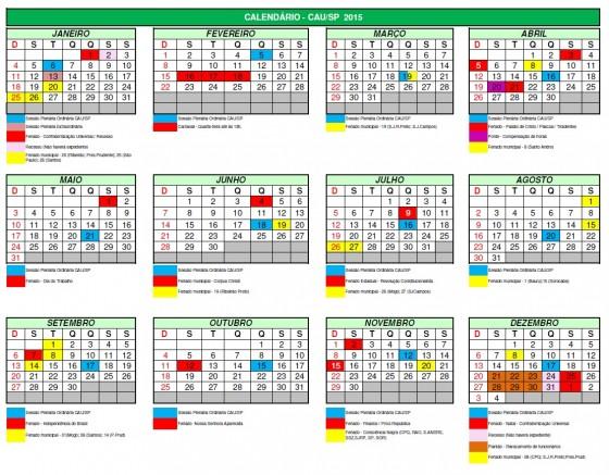 CalendarioFeriado2015