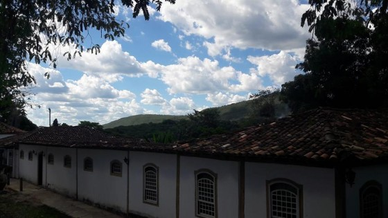 Casarão em frente à Igreja Matriz - Pirenópolis - GO